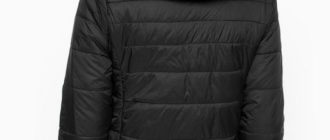 Куртка из полиамида.