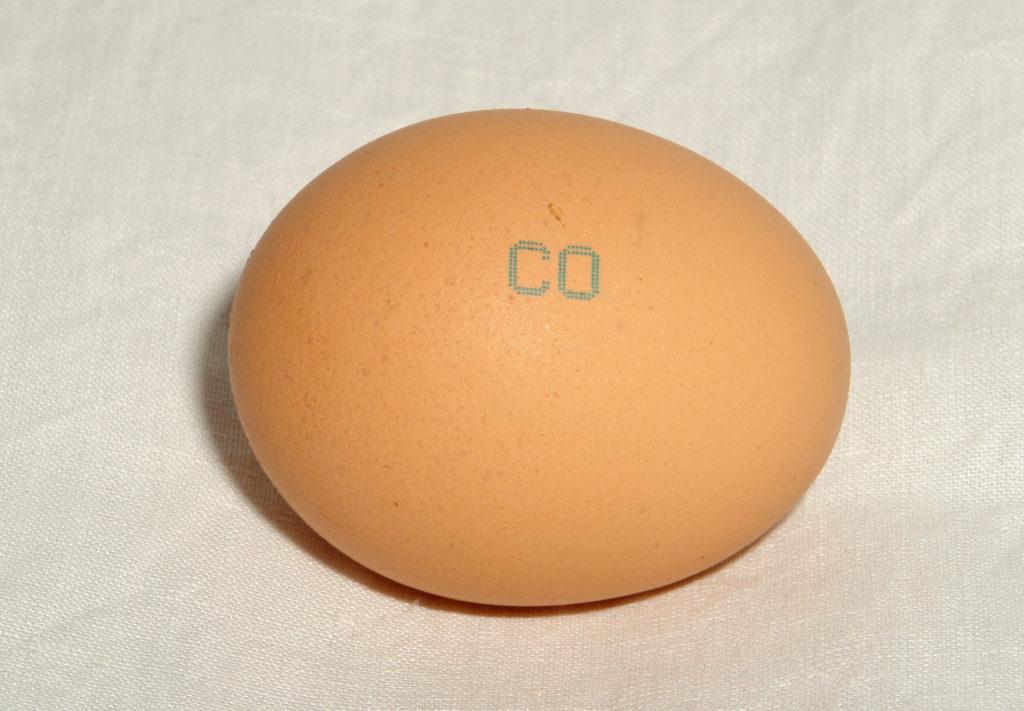 Маркировка яиц куриных С0.