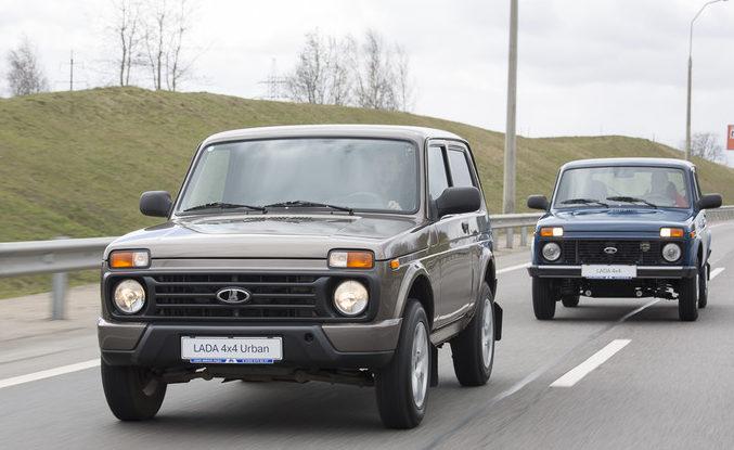 Отличия между автомобилями «Нива» 2121 и «Нива Урбан».