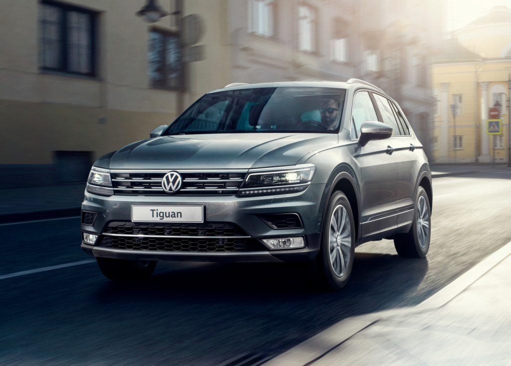 Volkswagen Tiguan второго поколения.