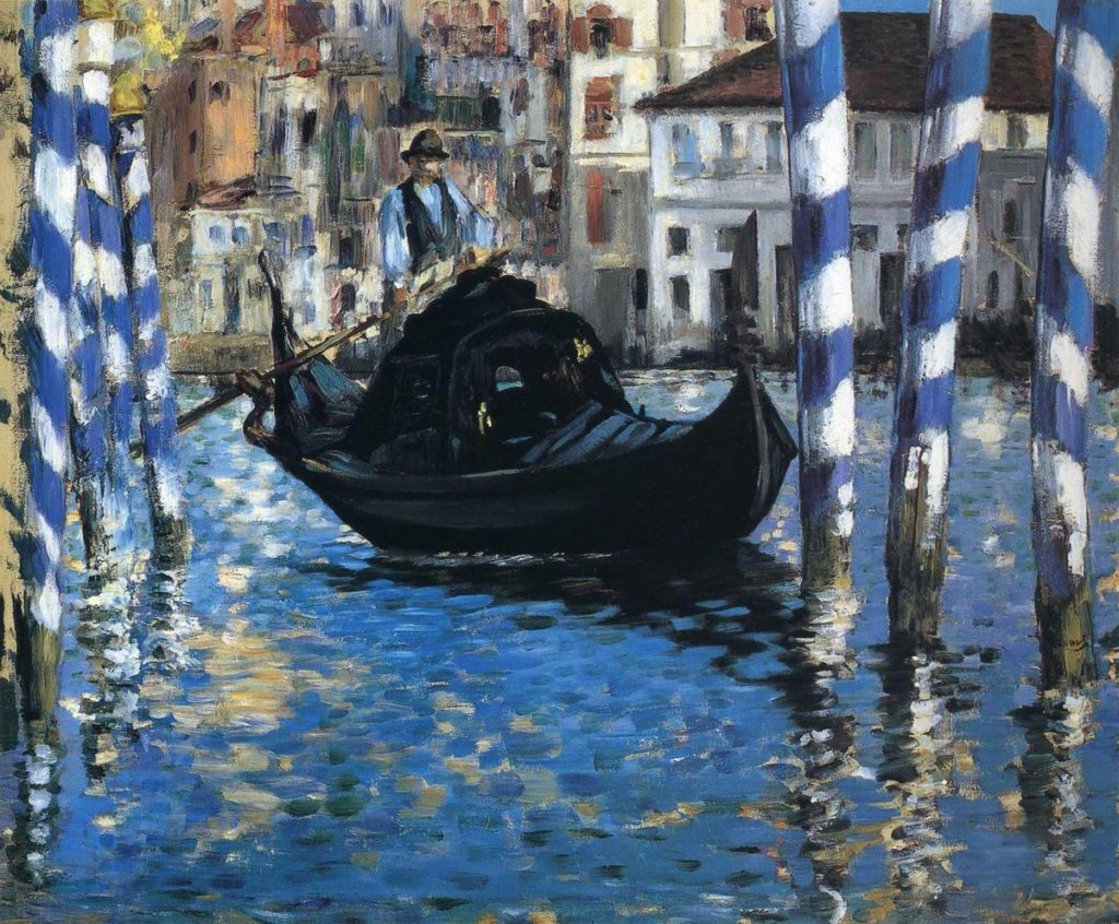 «Большой канал в Венеции» Эдуард Мане.