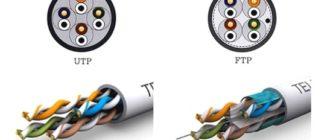 В чём разница между кабелем FTP и UTP.