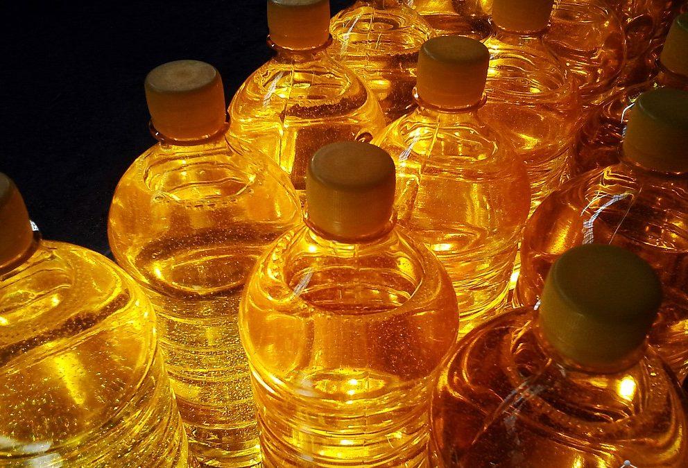 Нерафинированное масло.